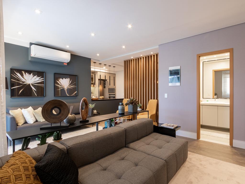 Apartamento decorado de 101,5m²