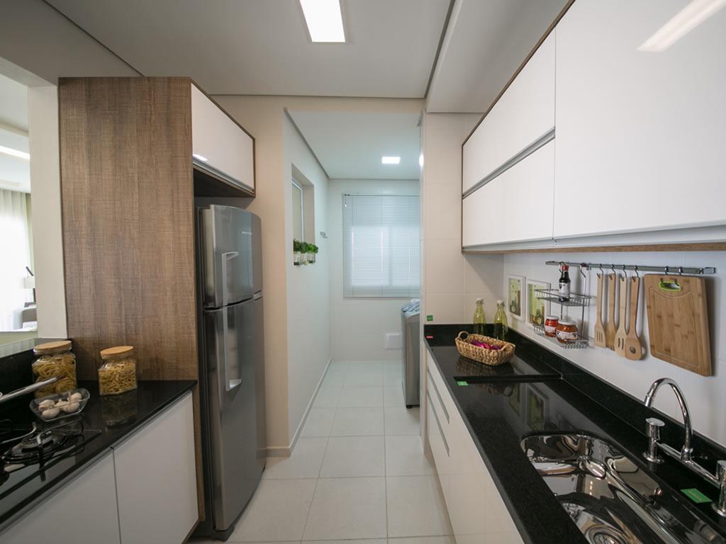 Cozinha integrada (3 dorms)