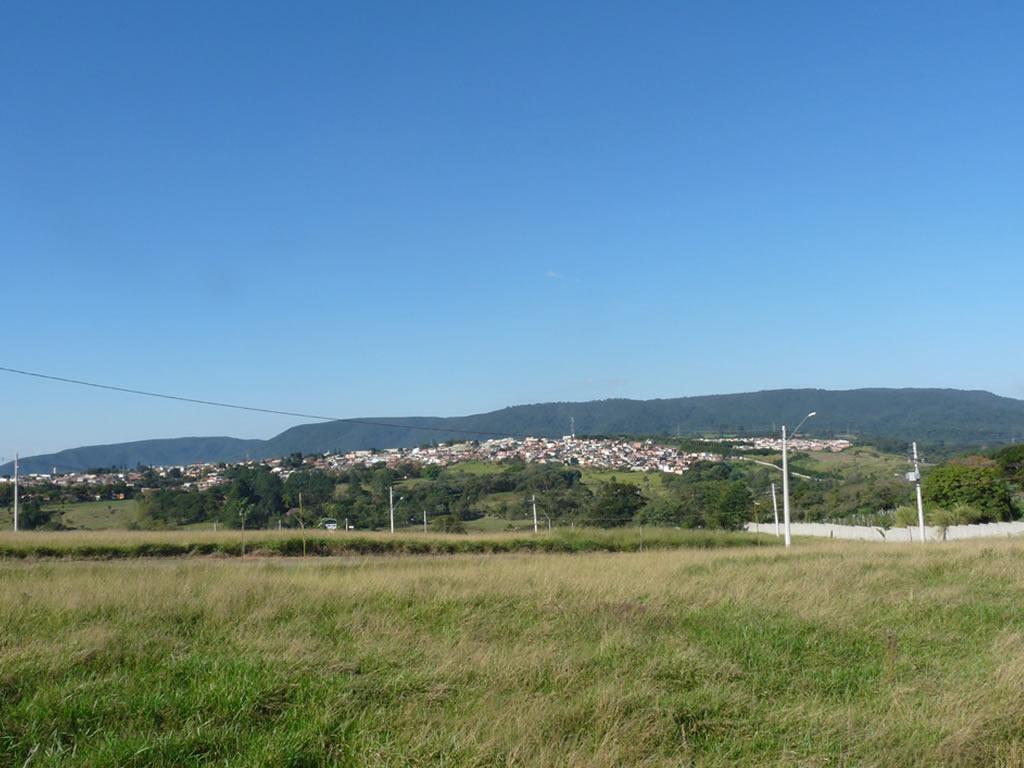Vista dos terrenos
